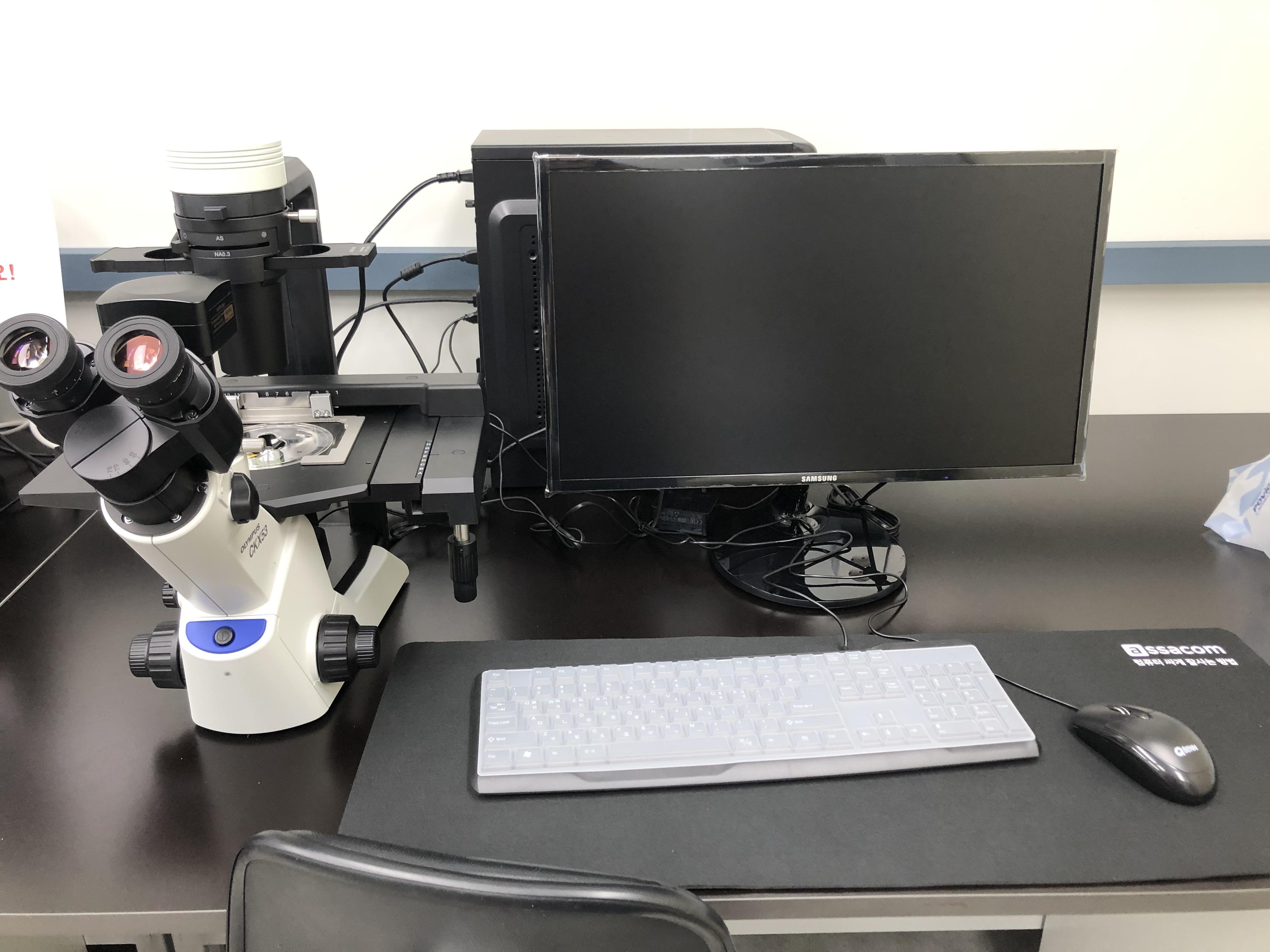 도립 3안 위상차 현미경